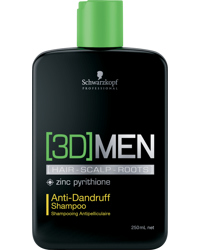 3D Men Anti-Dandruff Shampoo 250ml