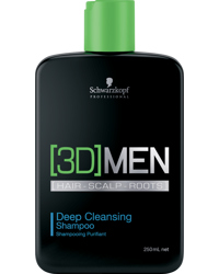 3D Men Deep Cleansing Shampoo 250ml