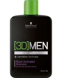 3D Men Root Activating Shampoo 250ml