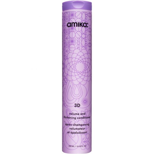3D Volumizing and Thickening Conditioner, 300 ml Amika Hoitoaine