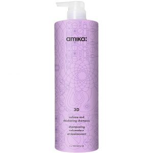 3D Volumizing and Thickening Shampoo, 1000 ml Amika Shampoo