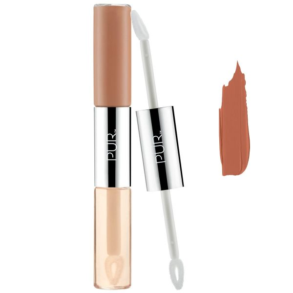 4-in-1 Lip Duo, 4.35 ml PÜR Huulipuna