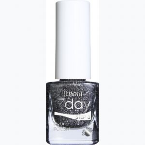 7 Day Hybrid Nail Polish - Winter In Stockholm Collection 70037 Stolen Silver