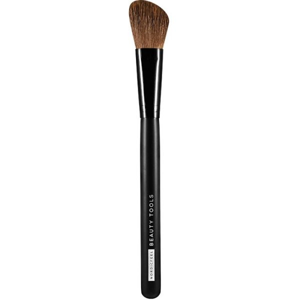 Angled Blush Brush, NordicFeel Beauty Tools Siveltimet