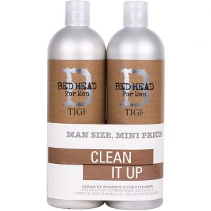 B for Men Clean Up Tweens Duo, TIGI Bed Head Paketit