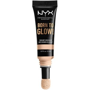 Born To Glow Radiant Concealer, 5.3 ml NYX Professional Makeup Peitevoide