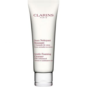 Clarins Gentle Foaming Cleanser With Cottonseed, Normal/Combination Skin, 125 ml Clarins Kasvojen puhdistus