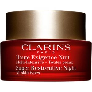 Clarins Super Restorative Night, for All Skin Types, 50 ml Clarins Yövoiteet