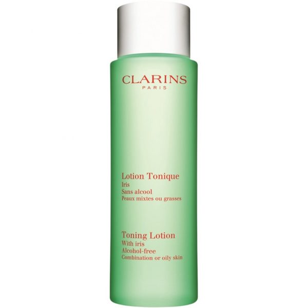 Clarins Toning Lotion with Iris Combination/Oily Skin, 200 ml Clarins Kasvovedet