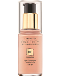 Facefinity All Day Flawless Foundation, 40 Light