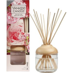 Fresh Cut Roses Reed Diffuser, 120 ml Yankee Candle Tuoksutikut
