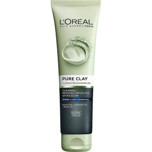 L'Oréal Paris Pure Clay Illuminating Cleansing Gel, 150 ml L'Oréal Paris Kasvojen puhdistus