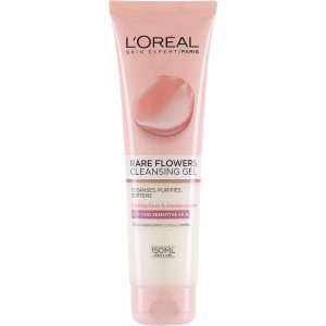 L'Oréal Paris Rare Flowers Cleansing Gel Dry/Sensitive, 150 ml L'Oréal Paris Kasvojen puhdistus