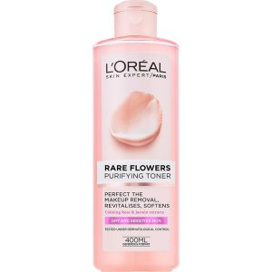 L'Oréal Paris Rare Flowers Purifying Toner Dry/Sensitive, 400 ml L'Oréal Paris Kasvovedet