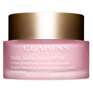 Multi-Active Jour SPF 20 for All Skin Types, 50 ml Clarins Päivävoiteet