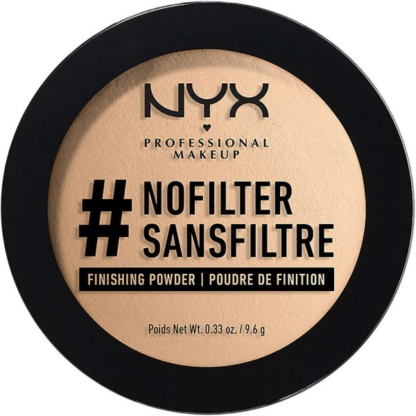 #Nofilter Finishing Powder, NYX Professional Makeup Puuteri