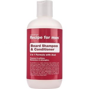Recipe for Men Beard Shampoo & Conditioner, 250 ml Recipe for men Partashampoo ja partahoitoaine