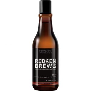 Redken Brews 3-In-1 Wash, 300 ml Redken Shampoo