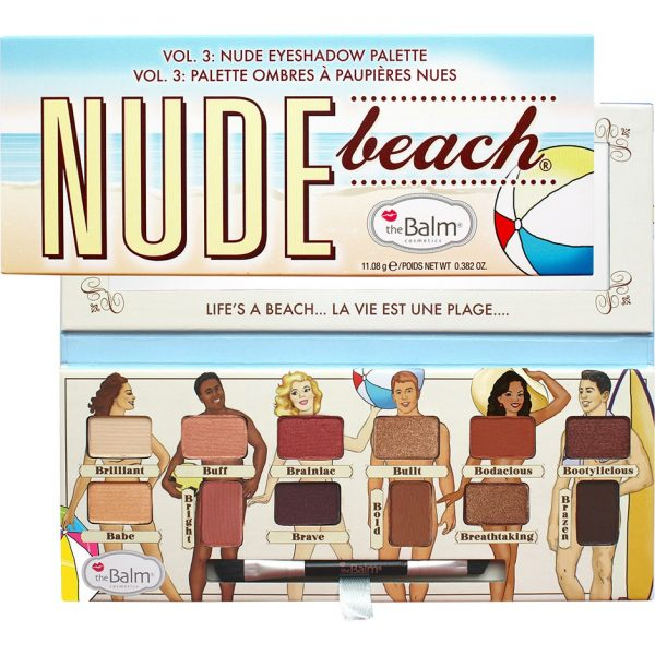 The Balm Nude Beach, the Balm Luomiväripaletit