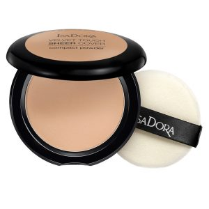 Velvet Touch Sheer Cover Compact Powder SPF20, 10 g IsaDora Puuteri