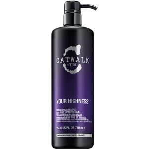 Your Highness, 750 ml TIGI Catwalk Shampoo