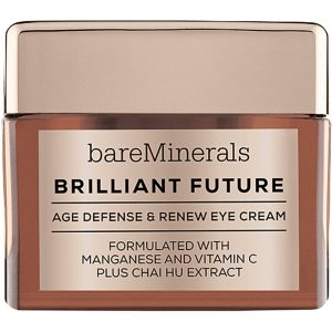 bareMinerals Brilliant Future Age Defense and Renew Eye Cream, 15 g bareMinerals Silmänympärysvoiteet