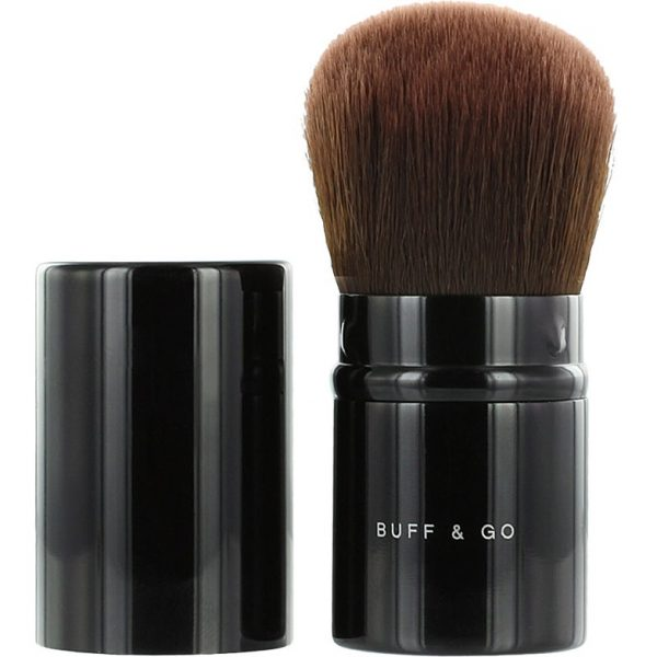 bareMinerals Buff & Go Brush, bareMinerals Siveltimet