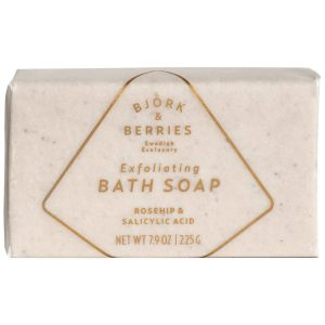 Exfolitaing Bath Soap, 225 g Björk & Berries Vartalokuorinnat