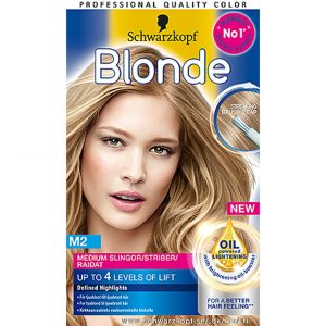 Schwarzkopf Blonde Medium Highlights M2, 98 ml Schwarzkopf Vaalennus