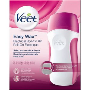 Veet Easy Wax Electrical Roll-On Kit, Veet Vahat & Geelit