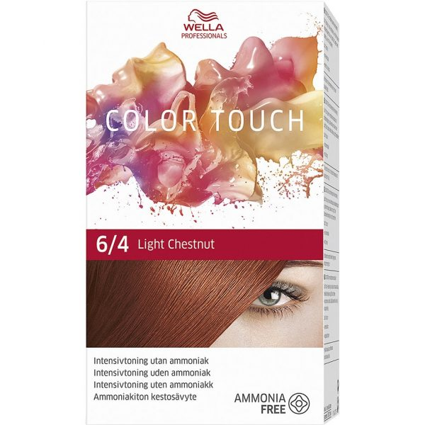 Wella Professionals Care Vibrant Reds Color Touch 6/4, Wella Punaiset hiukset