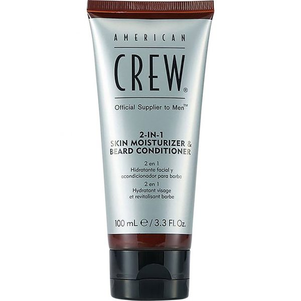 2 In 1 Skin Moisturizer And Beard Conditioner, 100 ml American Crew Partashampoo ja partahoitoaine