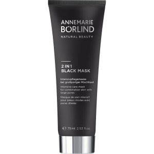 2 in 1 Black Mask, 75 ml Annemarie Börlind Kasvonaamio
