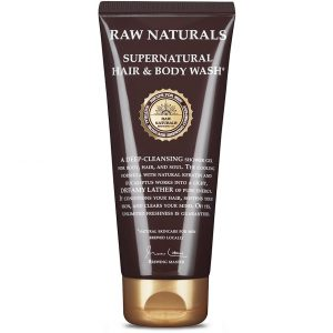 3 in 1 Supernatural Hair & Body Wash, 200 ml Raw Naturals by Recipe for Men Shampoo