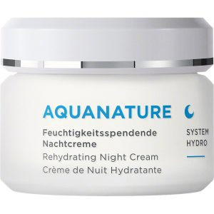 Aquanature Rehydrating Night Cream, 50 ml Annemarie Börlind Yövoiteet