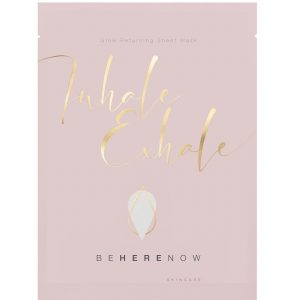 Inhale, Exhale - Glow Returning Sheet Mask, 25 ml Be Here Now Skincare Kasvonaamio