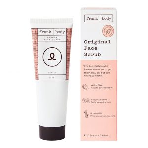 Original Face Scrub 125ml, Frank Body Kasvokuorinnat