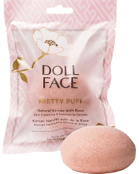 Pretty Puff - Rose Konjac Cleansing Sponge